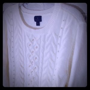 Pearl sweater large